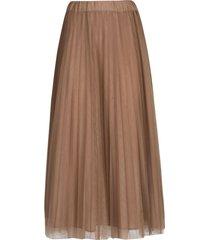 parosh two-layered long skirt