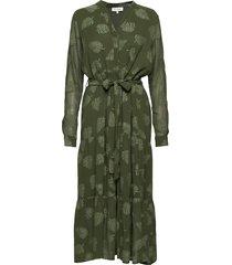 anouk jurk knielengte groen six ames