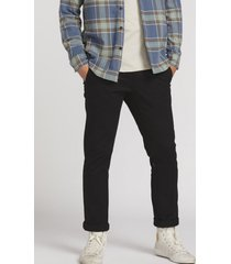 pantalon clasico hombre negro volcom