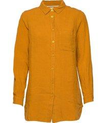 kivapw sh overhemd met lange mouwen geel part two