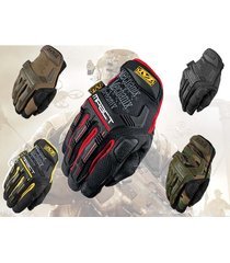 mechanix wear m-pact tactical gloves - mpt - multiple colors (4) in large & xl