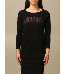 armani collezioni armani exchange sweater armani exchange crewneck sweater in cotton blend