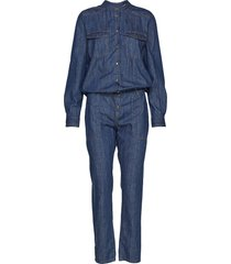 denim overall jumpsuit blå marc o'polo