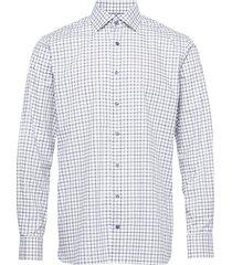 contemporary fit purple lightweight twill shirt skjorta casual lila eton