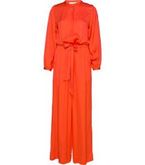 ninna jumpsuit orange rabens sal r