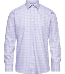 slim fit yellow/orange lightweight twill shirt overhemd business paars eton