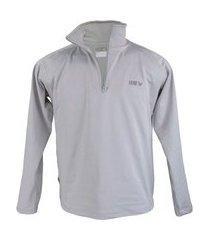 blusa térmica masculina segunda pele meio zíper thermo premium original regular fit