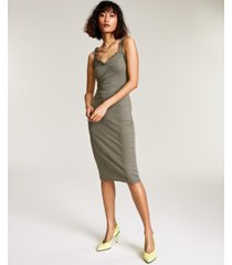 bar iii ribbed midi dress, created for macy's