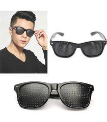 anti fatigue improve eyesight vision pinholes stenopeic eye care sunglasses
