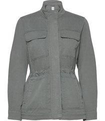 v-core utility jacket solid outerwear jackets utility jackets grå gap