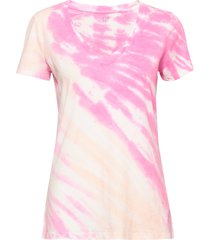 vintage v-neck tie-dye t-shirt t-shirts & tops short-sleeved rosa gap