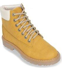 botas mujer bata buffy amarillo