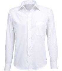 giovanni capraro heren overhemd wit semi spread ml7 comfort fit