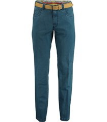 meyer chino broek diego blauw 3061500100/18