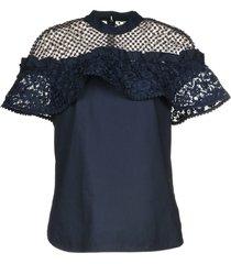 self-portrait blouses