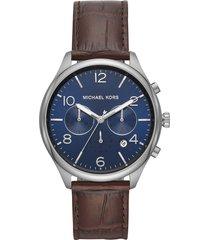 reloj michael kors para hombre - merrick chronograph  mk8636