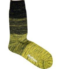men's druthers everyday gradient crew socks, size one size - beige