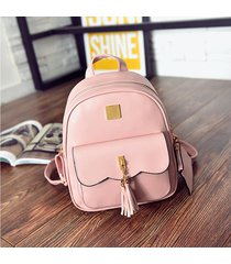 mochila de mujer/ mochila para mujer de 3 piezas bolsas-rosa