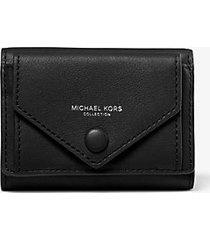 mk portafoglio con tasca - nero (nero) - michael kors