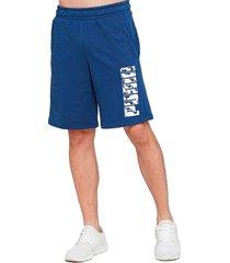 pantaloneta - azul - puma - ref : 58146343