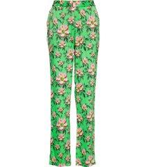 rika pantalon met rechte pijpen groen custommade