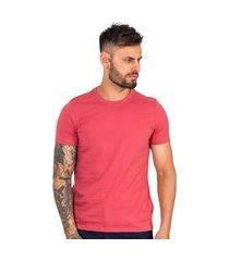 camiseta masculina básica lisa gola redonda manga curta