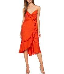 women's bardot zoe faux wrap dress