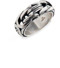 men's john varvatos chain ring