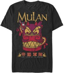 fifth sun men's stone mushu short sleeve crew t-shirt