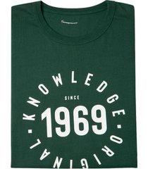t-shirt van bio-katoen, groen l