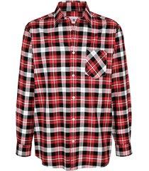 overhemd roger kent rood::marine