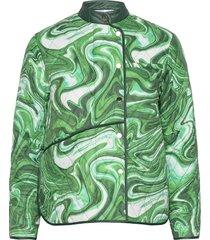 alice victoria jacket kviltad jacka grön hosbjerg