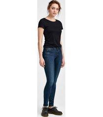 jeans midge zip mid skinny