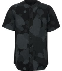 maharishi night camo baseball shirt 6511