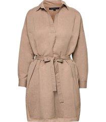cot linen blend rhodes sh drss dresses everyday dresses beige french connection
