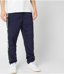 polo ralph lauren men's polo sport stripe track pants - cruise navy/college green - xl