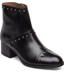 g-5107 shoes boots ankle boots ankle boots with heel svart wonders