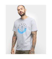 camiseta hurley silk hold down masculina