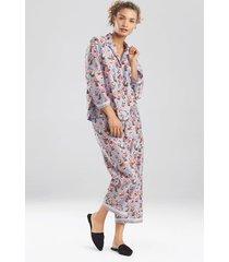 natori tea party sleepwear pajamas & loungewear set, women's, 100% cotton, size l natori