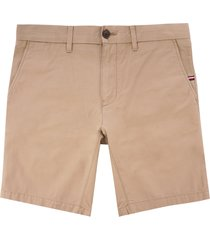 tommy hilfiger brookyln lightweight shorts - khaki mw0mw09647