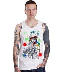 regata lucinoze camisetas grafit branca.