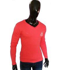sweater para hombre casual guinea, ropa autoritaria- salmon