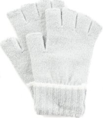 style & co ribbed tipped fingerless gloves, created for macy's