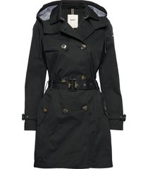 coats woven trench coat rock svart esprit casual
