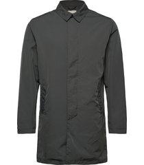 slhfelix coat w ex trenchcoat lange jas grijs selected homme