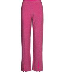 day vista pantalon met rechte pijpen roze day birger et mikkelsen