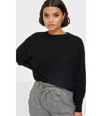 noisy may nmship l/s o-neck knit noos stickade tröjor