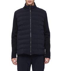 'dale of aspen' knit back down puffer jacket