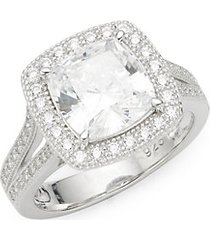 rhonda faber green sterling silver ring