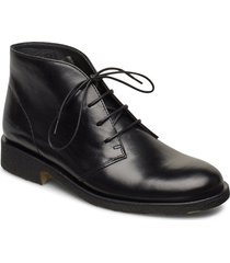 booties - flat shoes boots ankle boots ankle boot - flat svart angulus